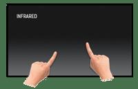 55 Zoll Touchbildschirm